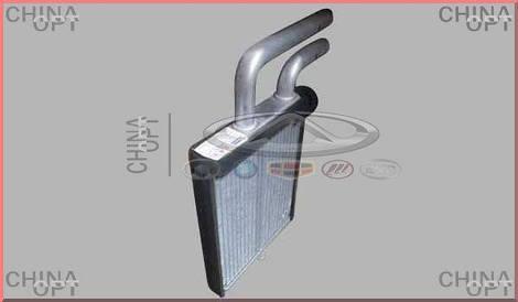 Радиатор печки / отопителя, 4 трубки, Chery Elara [2.0], A21-8107130BB, Aftermarket