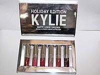Набор матовых  помад Kylie, фото 1