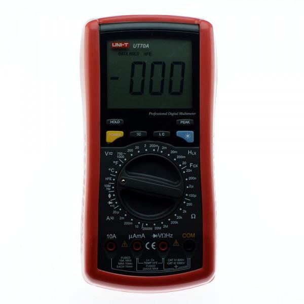 Мультиметр цифровой UNI-T UT-70A многофункциональный