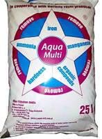 Сорбент Aqua Multi (12 литров) - фильтрующий материал для удаления железа, жесткости, марганца, аммиака