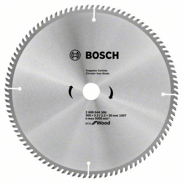 Циркулярный диск Bosch 305x30/100 Optiline ECO
