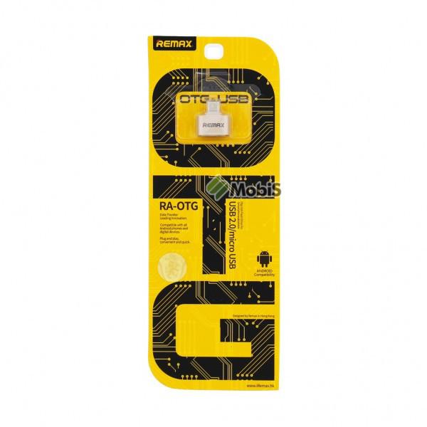 OTG Remax MicroUSB blister (Код: 900436)