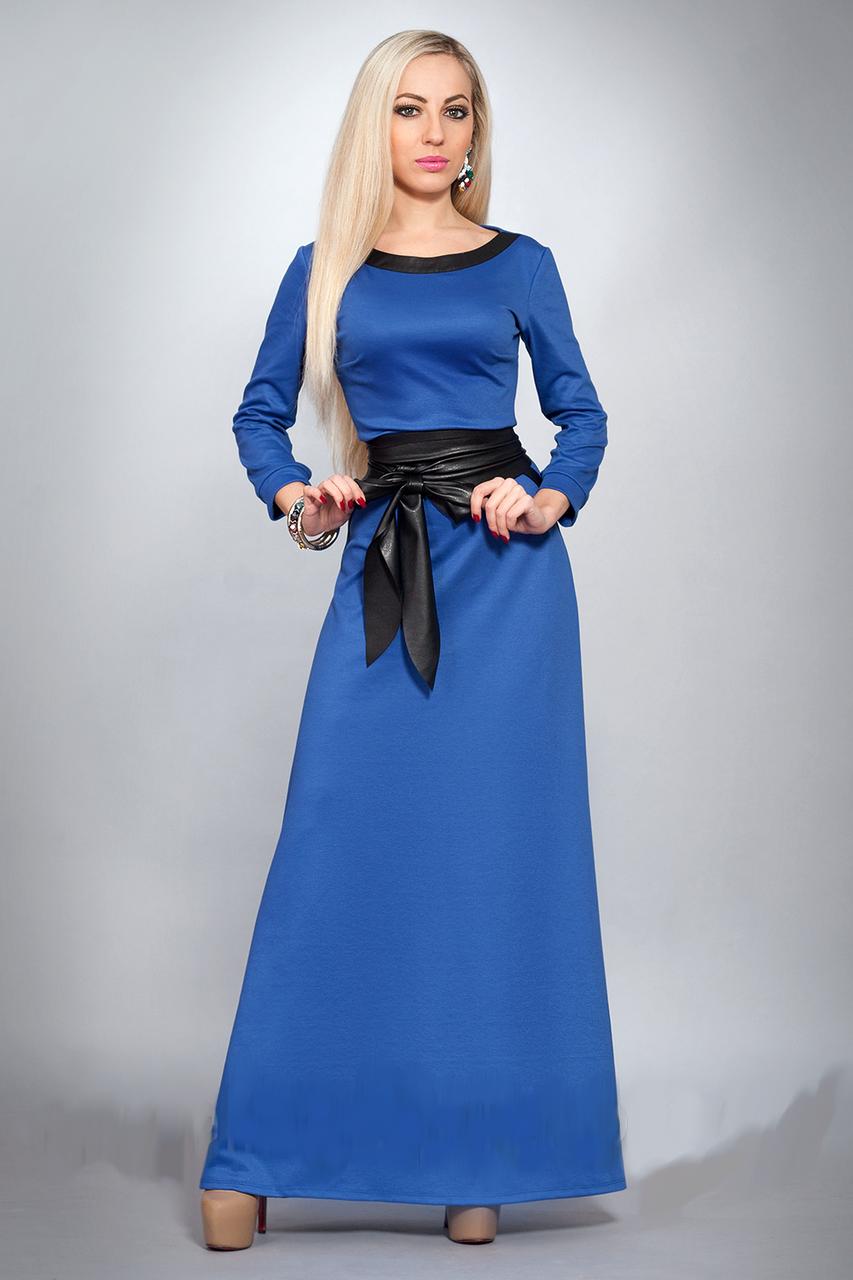 Красивое длинное женское платье, р-ры 42,44