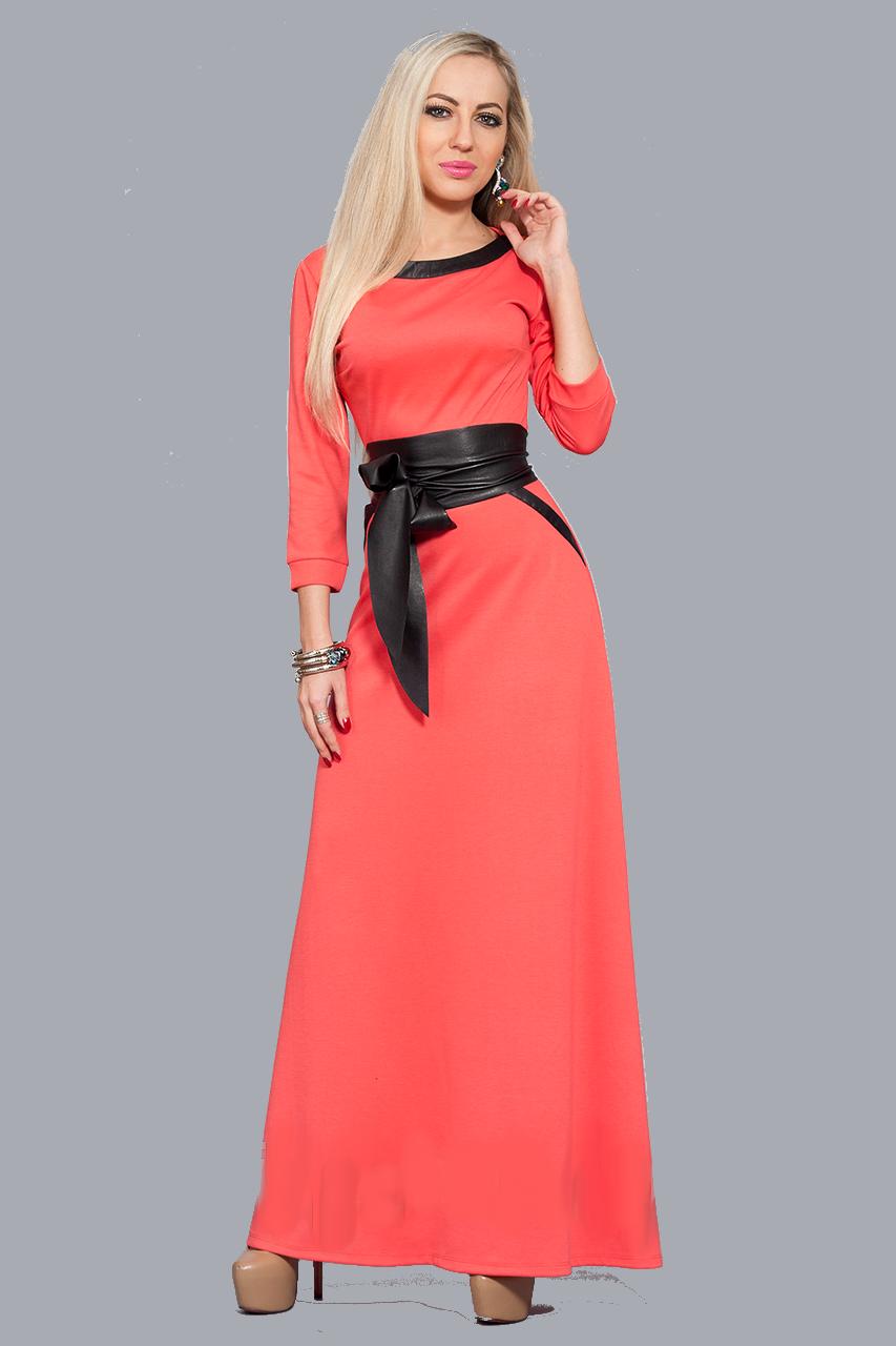 Красиве довге жіноче плаття, р-ри 46,48