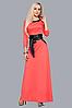 Красивое длинное женское платье, р-ры 46,48