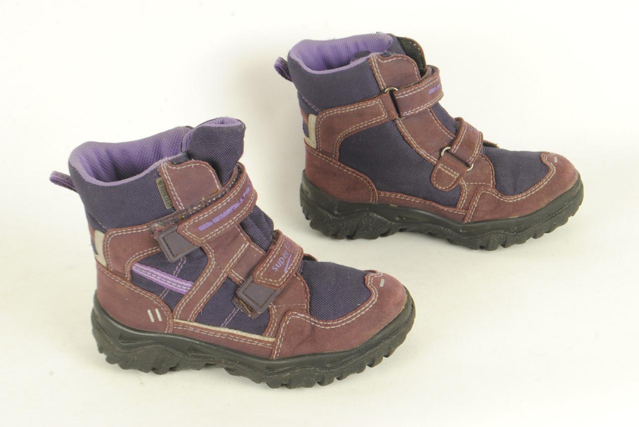 e8eb5182c Детские демисезонные ботинки Superfit для девочки размер 30 -  Интернет-магазин Second hand