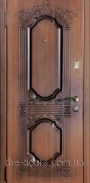 Дверь входная Статус серия Элит модель П20 патина