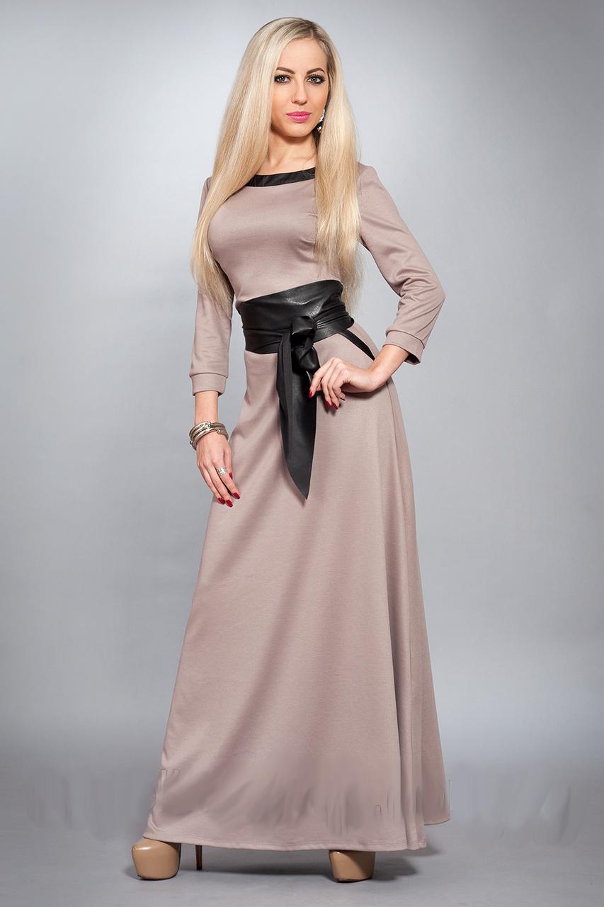 Красивое длинное женское платье, р-ры 40-42