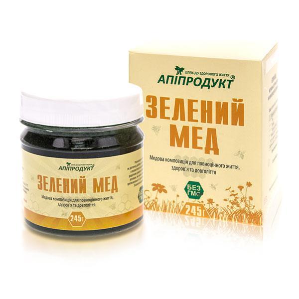 Зелений мед [Зміцнення імунітету. Спіруліна. Медова композиція]