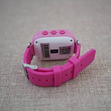 Детские смарт-часы с GPS трекером GW900 [Q60] pink, фото 3