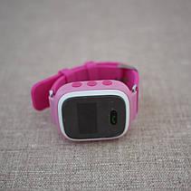 Детские смарт-часы с GPS трекером GW900 [Q60] pink, фото 2