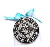 Шоколадная медаль в подарок к Новому году