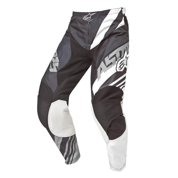 """Брюки Alpinestars Racer Supermatic текстиль черно-белые """"M"""" (32)"""