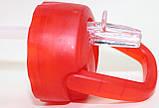 Бутылка пластиковая для напитков, красная, 500 мл, фото 6