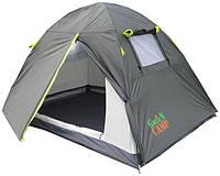 Палатка 2-х местная GreenCamp GC1001A (210x200x135 см)