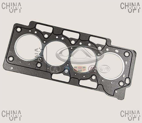 Прокладка ГБЦ, 484J, 481*, металлоасбестовая, Chery Tiggo 5 [2.0, c 2016г.], 484J-1003080BA, Aftermarket