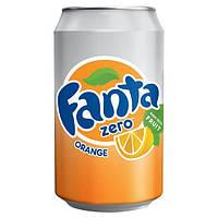 Фанта со вкусом апельсина без сахара