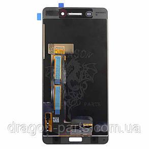 Дисплей Nokia 6 Dual Sim с сенсором TA-1021 Черный Black, оригинал, фото 2