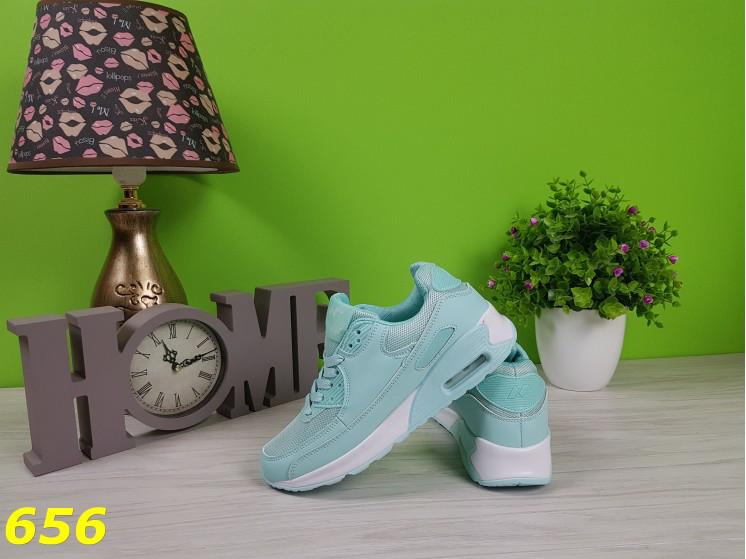 50c70402 Кроссовки аирмаксы мятного цвета , удобные, легкие, женская спортивная  обувь. 459 грн. В наличии. Купить