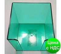 Подставка под бумагу для заметок Economix, 90х90х90 мм, пластик, зеленый E32601-04