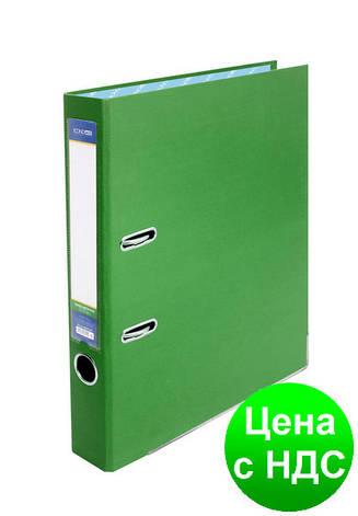Папка-регистратор А4 Economix, 50 мм, зеленая  E39720*-04, фото 2