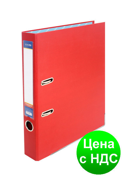 Папка-регистратор А4 Economix, 70 мм, красная  E39721*-03