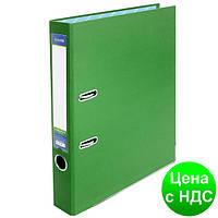 Папка-регистратор А4 Economix, 70 мм, зеленая  E39721*-04
