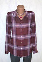 Блуза Рубашка в Клетку от H&M Размер: 46-М