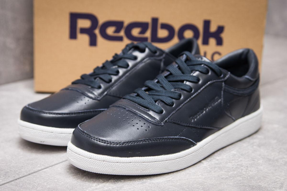 Кроссовки мужские Reebok Classic, темно-синие (13872) размеры в наличии ► [  44 (последняя пара)  ] (реплика)