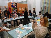 Корпоративный мастер класс по росписи керамики.