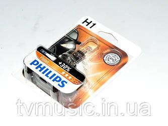 Лампа галогенная Philips H1 Vision +30% (12258PRB1)