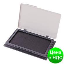 Подушка штемпельная, настольная Economix, размер 70х110 мм, черная E42101-01