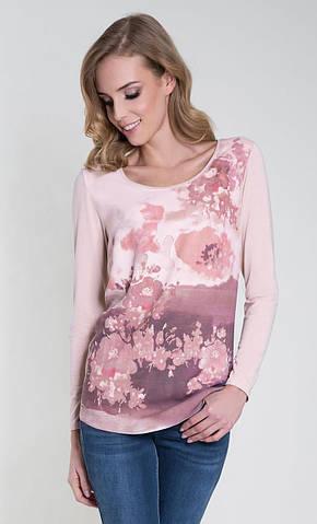 Женская блуза Odetta Zaps розового цвета, коллекция осень-зима 2018-2019