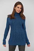 Женский вязаный свитер шерстяной модный