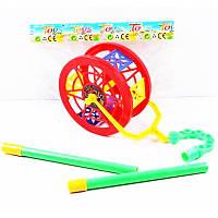 Каталка колесо с шариками в пакете