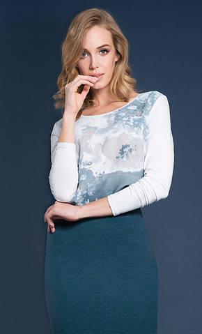 Женская блуза Odetta Zaps мятного цвета, коллекция осень-зима 2018-2019