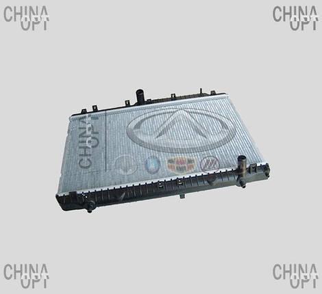 Радиатор охлаждения, Chery M11, A21-1301110, Aftermarket