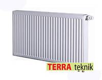 Стальной радиатор 500*1400 22 класс   Terra teknik нижнее подключение, фото 1