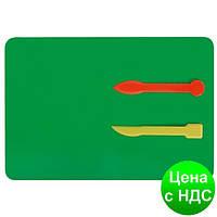 Набор для лепки: дощечка + 2 стеки, пластик E81188