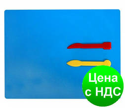 Набор для лепки: дощечка + 2 стеки, пластик E81187
