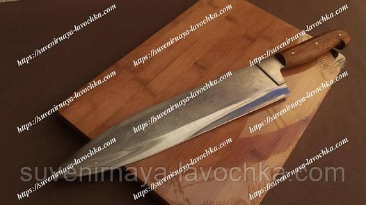 Нож Спутник 06 поварской с притином