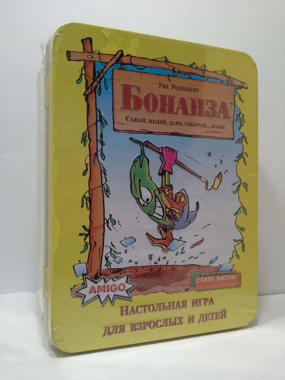 Настольная игра Amigo Бонанза Делюкс (Bohnanza) [8-99] [2-7 игрока] Стиль жизни