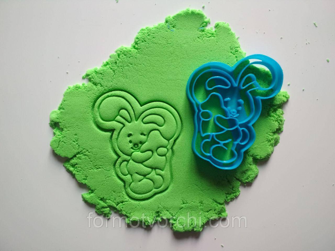 """3D формочки-вырубки для пряников """"Зайчик 2"""""""