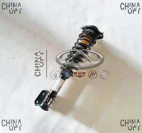 Амортизатор передний правый, газомасляный, в сборе c пружиной, Chana Benni, CV6042-0002, OEM