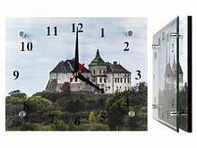 Часы Замок на горе настенные
