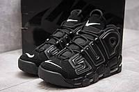 Кроссовки мужские Nike More Uptempo, черные (13915) размеры в наличии ► [  44 (последняя пара)  ] (реплика), фото 1