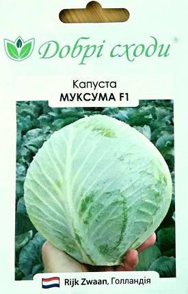 Семена капусты белокачанной Муксума 20шт, фото 2