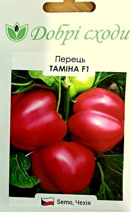 Семена перца Тамина F1 10шт ТМ ДОБРІ СХОДИ, фото 2