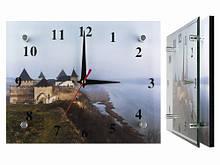 Необычные настенные часы Туман