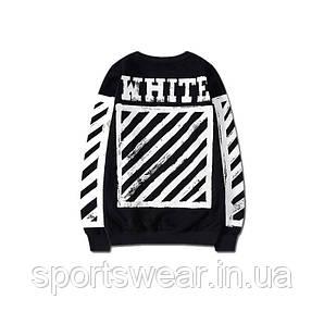 "Свитшот OFF WHITE Hip Hop Red  """" В стиле Off White """""
